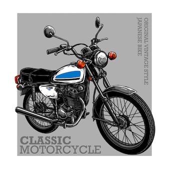 Klasyczny motocykl
