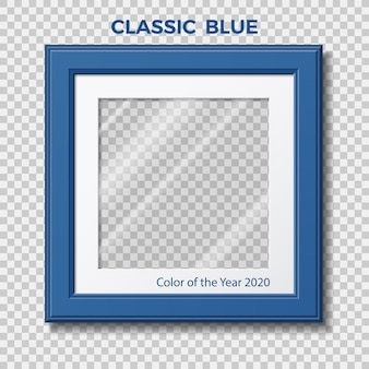Klasyczny niebieski. kolor roku pantone.