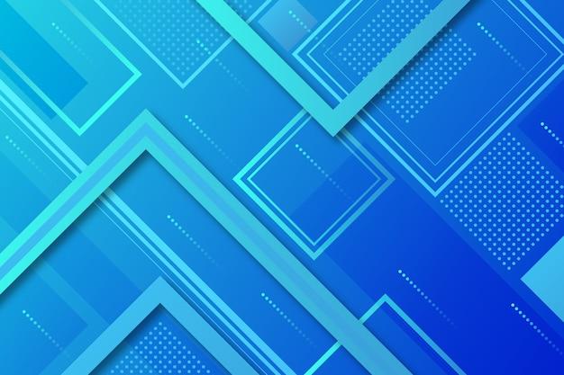 Klasyczny niebieski streszczenie styl z kwadratami