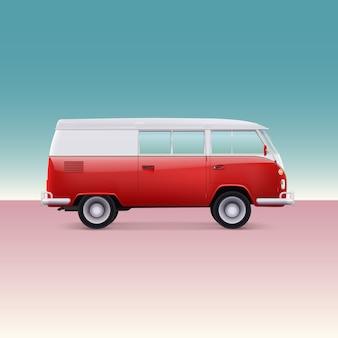 Klasyczny samochód kempingowy