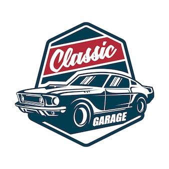Klasyczny samochód vintage