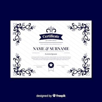 Klasyczny szablon certyfikatu