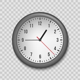 Klasyczny zegar ścienny do biura