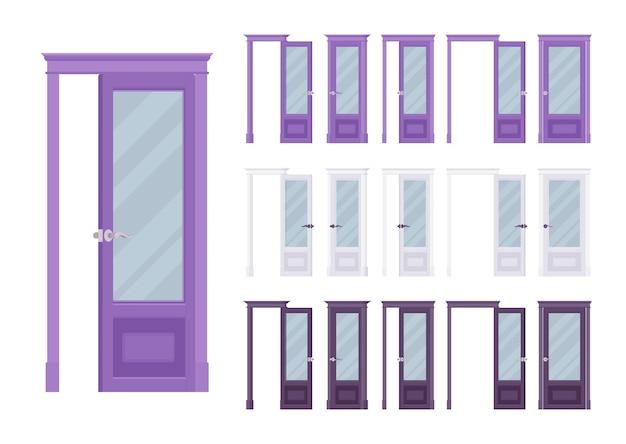 Klasyczny zestaw drzwi