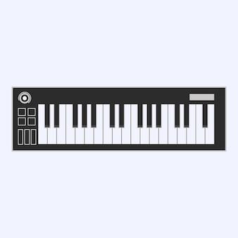 Klawiatura fortepianowa lub elektroniczna