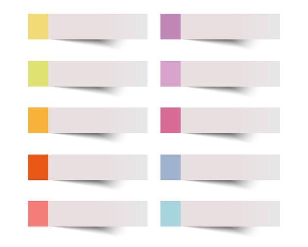 Kleista notatka na białej background.vector ilustraci.