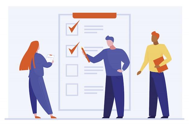 Klient wypełnia formularz ankiety