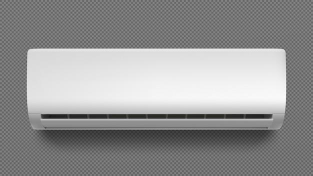 Klimatyzator na białym tle.