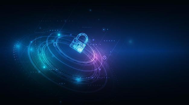 Kłódka z zabezpieczeniem danych osobowych keyholep