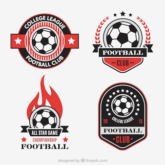 Klub piłkarski, odznaki