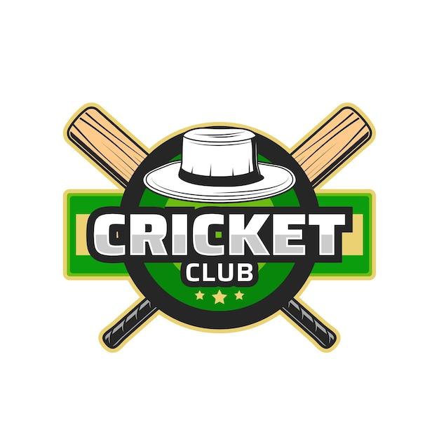 Klub sportowy krykieta, emblemat mistrzostw turnieju