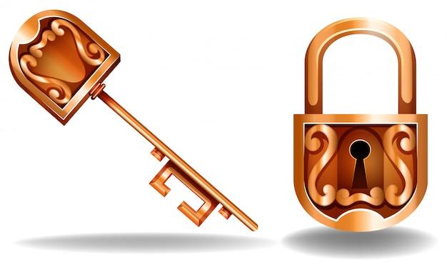 Klucz i zamek