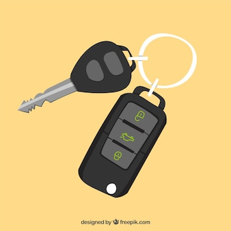 Klucz płaski samochód tło