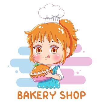 Kobieta baker