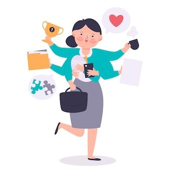 Kobieta biznesu jest najlepszym pracownikiem