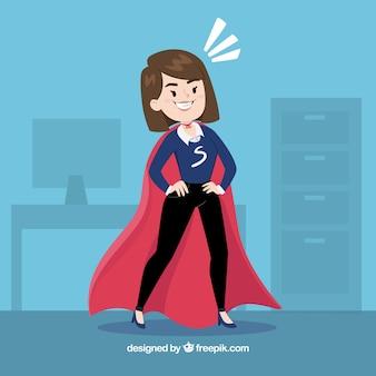 Kobieta biznesu z płaszczem