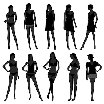 Kobieta kobieta dziewczyna moda bielizna undies bielizna biustonosz model