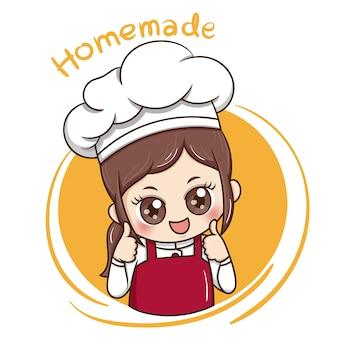 Kobieta kucharz