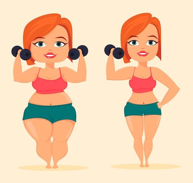 Kobieta robi ćwiczenia