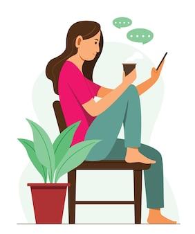 Kobieta rozmawiająca przez telefon komórkowy