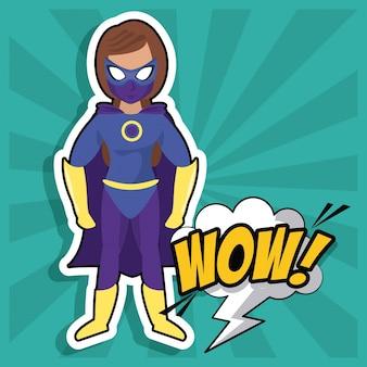 Kobieta superbohatera