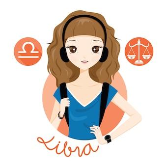 Kobieta z znak zodiaku waga