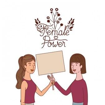 Kobiety o charakterze kobiecej postaci etykiety