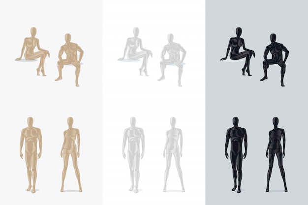 Kobiety shapewear lub żeńska korekcyjna bielizna wektoru ilustracja