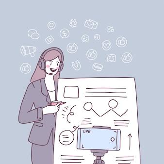 Kobiety sprzedają swoje produkty za pomocą infiuencer marketingu.