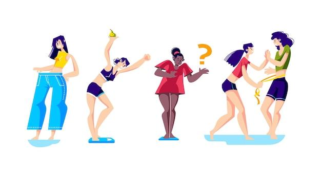 Kobiety tracą na wadze