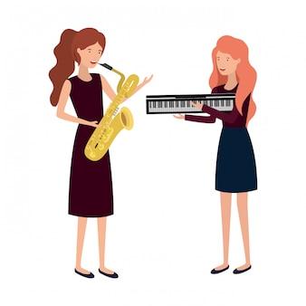 Kobiety z charakterem instrumentów muzycznych