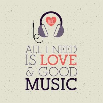 Kochać muzykę