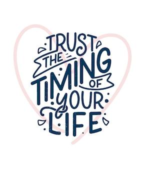 Kochaj siebie napis slogan. zabawny cytat na bloga, plakat i projekt druku. tekst nowoczesnej kaligrafii o samoopiece. ilustracja wektorowa