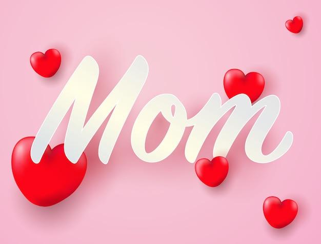 Kocham cię mamo z sercem