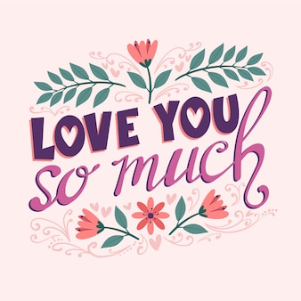 Kocham cię tak bardzo wesele napis