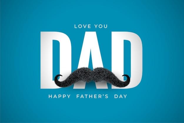 Kocham cię, tato, przesłanie na dzień ojca
