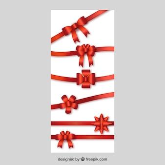 Kokardki i wstążki na prezenty