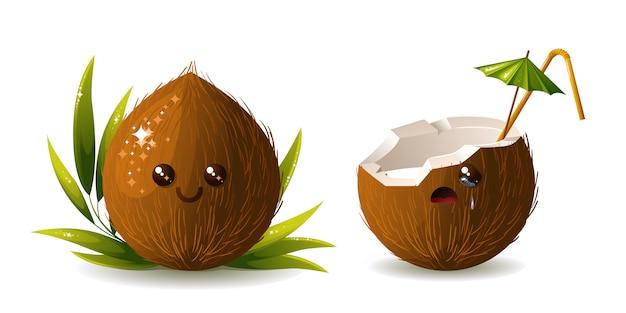 Kokosowy koktajl.