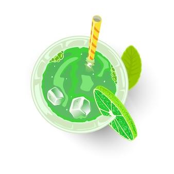Koktajl alkoholowy lub bezalkoholowy