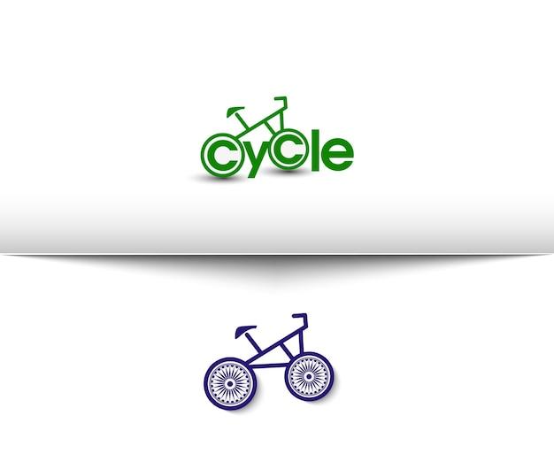 Kolarstwo i jazda na rowerze ikony www i logo wektorowe