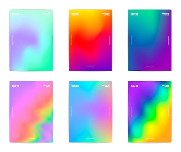 Kolekcja abstrakcyjna tła