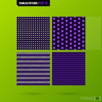 Kolekcja abstrakcyjne wzory