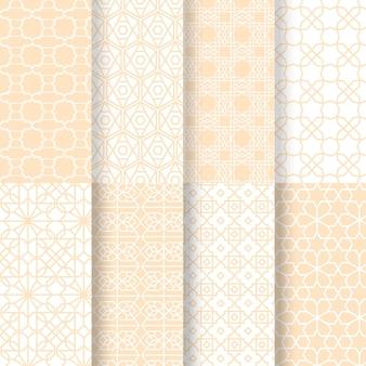 Kolekcja arabskich wzorów
