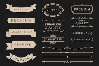 Kolekcja bannerów najwyższej jakości