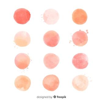 Kolekcja brzoskwiniowy splash