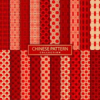 Kolekcja chińska wzór