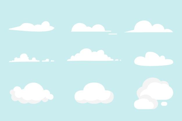Kolekcja chmur