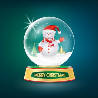 Kolekcja christmas snowman.