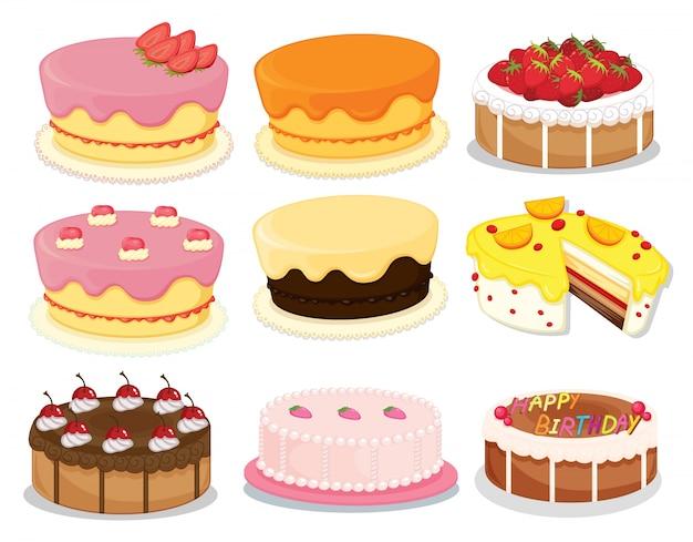 Kolekcja ciasta 2