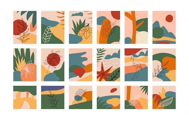 Kolekcja cute doodle ręcznie. różne formy i przedmioty, nowoczesne ubrania i designerskie opakowania do swoich zastosowań.
